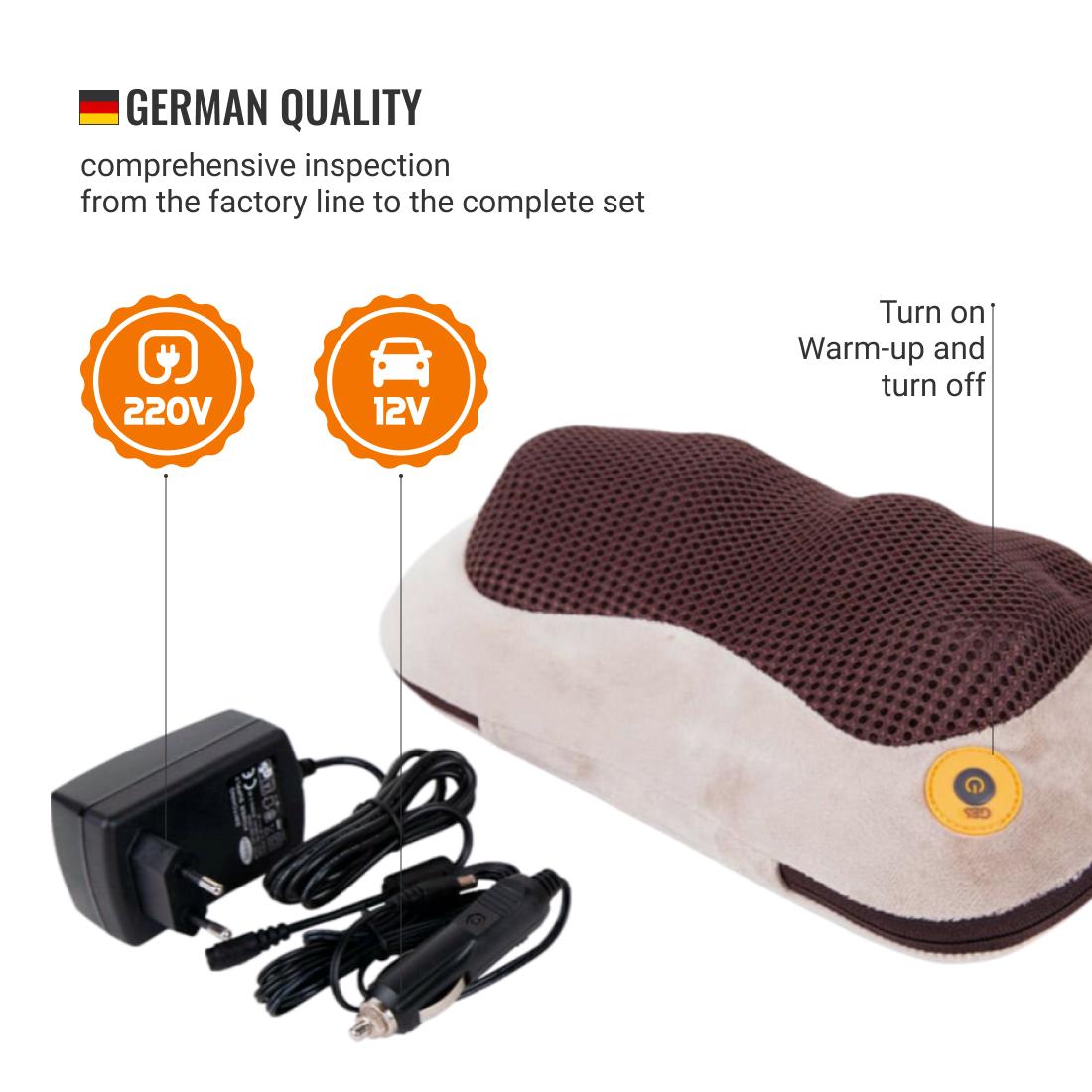 Massage pillow Massage cushion
