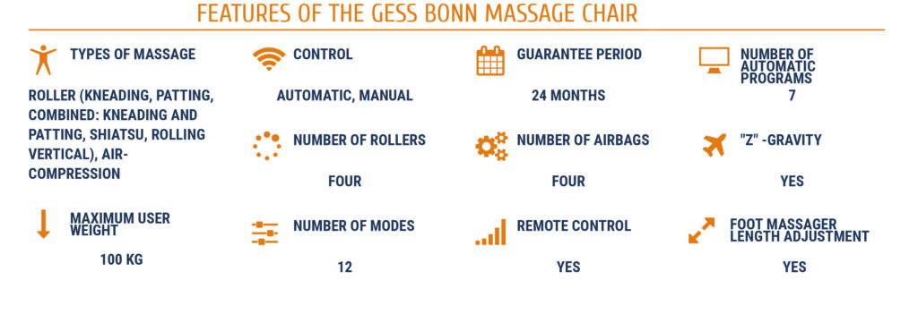 Gess Massage Chair Bonn