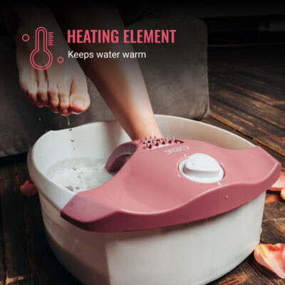 Hydro foot massager