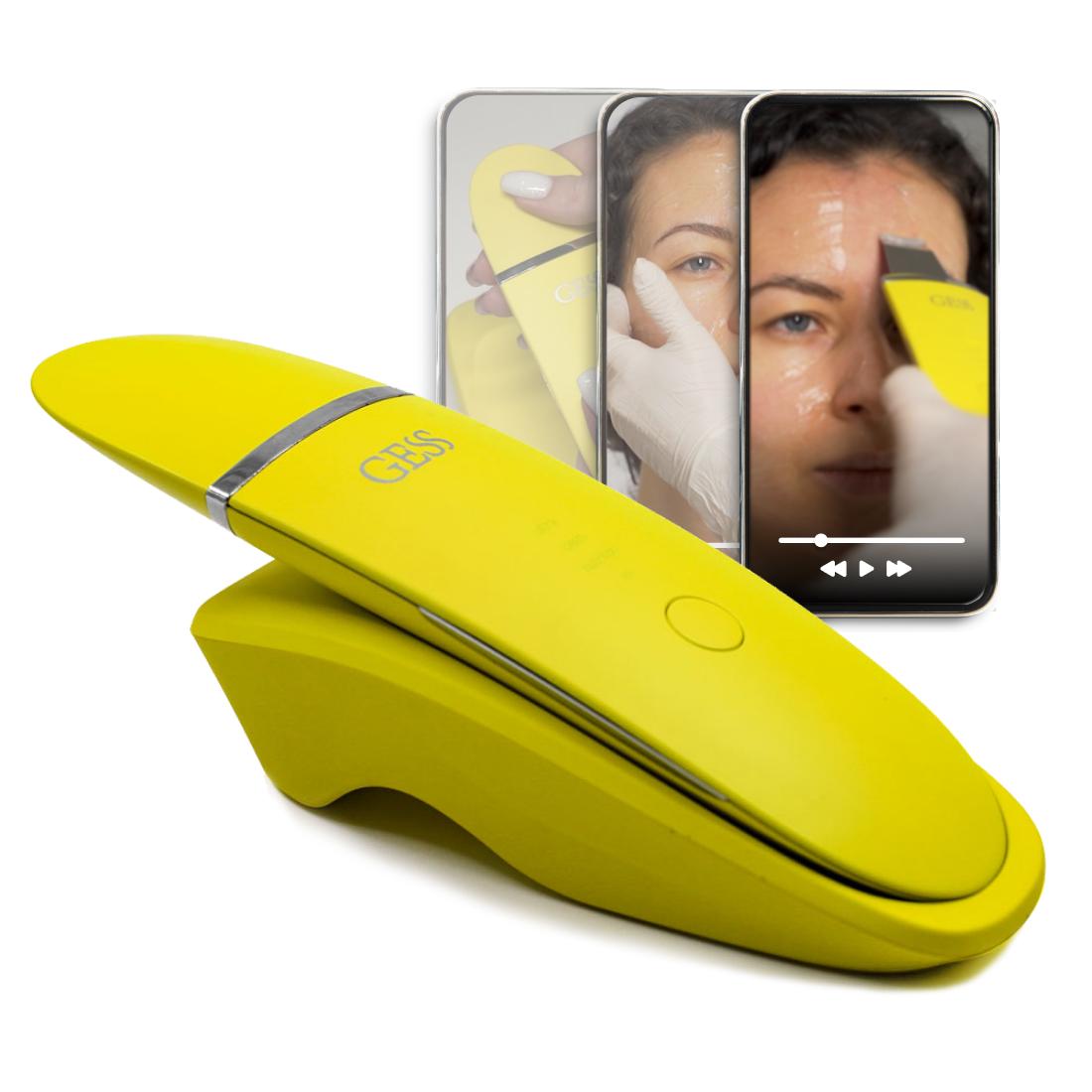 Ultrasonic Facial Cleansing